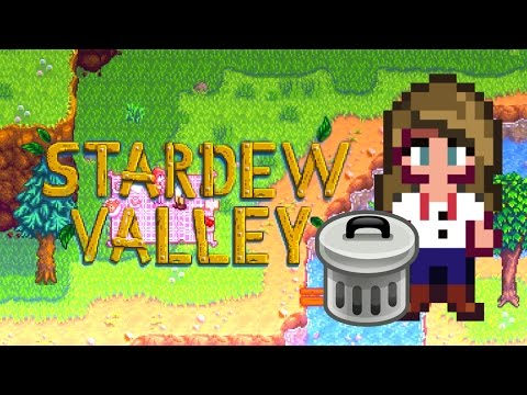 EATING FROM THE TRASH?! | EP. 3 Stardew Valley
