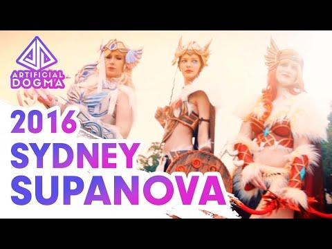 SYDNEY SUPANOVA 2016 - FAN VIDEO (PIZZA ROLLS MASHUP) [R+18]