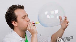 Как надувать гигантские нелопающиеся пузыри!
