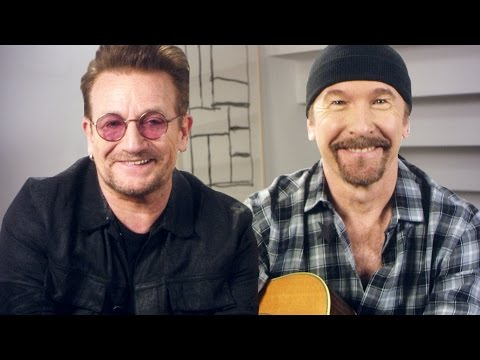 U2's Bono and The Edge Get Stuck in a Moment They Can't Get Out Of  // Omaze