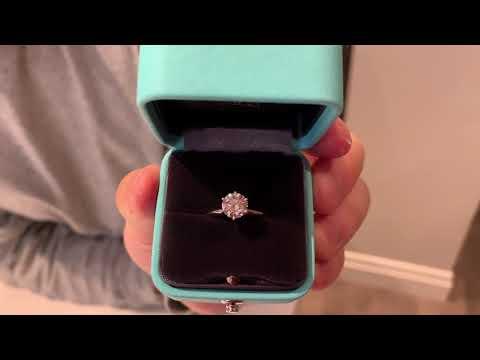 Tiffany Setting Engagement Ring (1.32 Ct, I, VS1)
