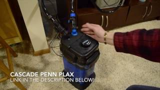 How to clean a Cascade Canister Filter!