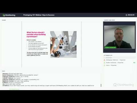 Prototyping 101 Webinar: Keys to Success