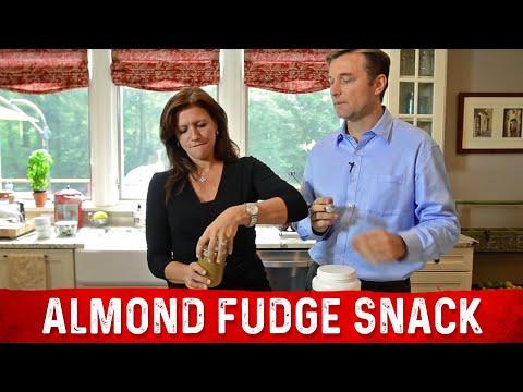 Fat Burning Almond Fudge Snack - No Sugar, Protein & Kale