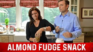 Fat Burning Almond Fudge Snack - No Sugar, Protein & Kale