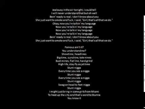 Drake- The Language Lyrics
