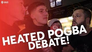 HEATED POGBA DEBATE! NORWICH 1 MAN UTD 3 - Fancams Spark Pogba Row
