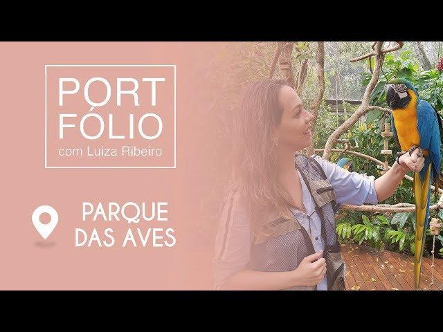 Chamada Portfólio - Parque das Aves - Foz do Iguaçu