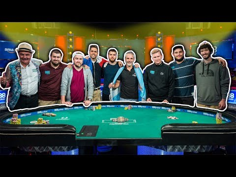 It's the WSOP Main Event Final Table