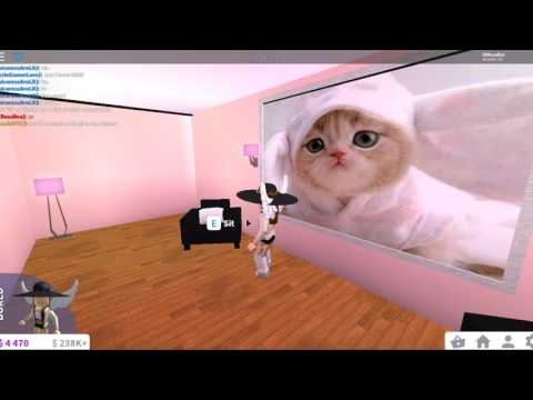 Cute Puppy And Kitten Decal Codes For Welcome To Bloxburg Youtube