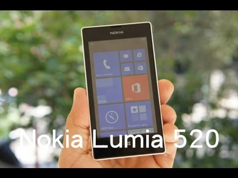 Nokia Lumia 520 hands-on (Greek)