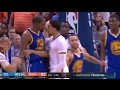 Kevin Durant Vs Oklahoma City Thunder EVERY FIGHT Scuffle February 11th 2017