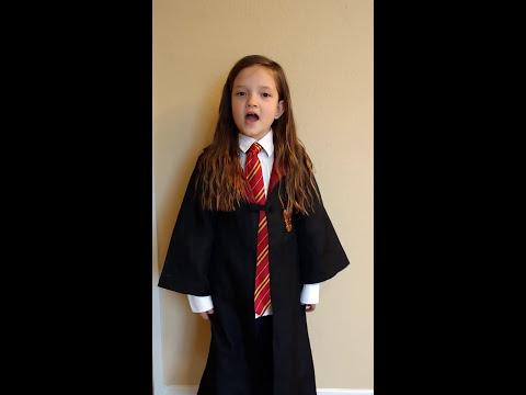 7 Year Old Sings