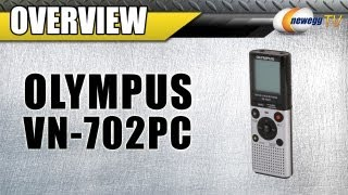 Newegg TV: OLYMPUS VN-702PC USB PC Interface Digital Audio Recorder Overview