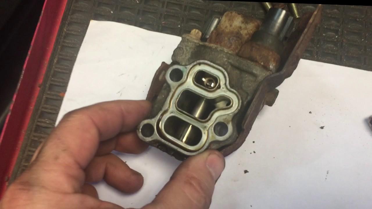 honda crv oil leak repair youtube
