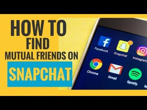 How to Find Mutual Friends on Snapchat (3 Simple Steps)