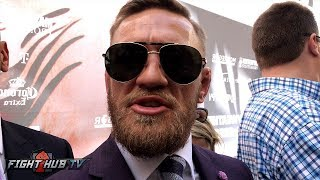 "CONOR MCGREGOR ""IM GONNA COME FORWARD & BREAK HIM DOWN & PUT HIM TO SLEEP!"""