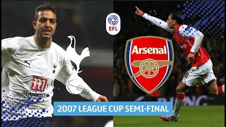 FULL GAME | Classic Tottenham v Arsenal League Cup Semi-Final!