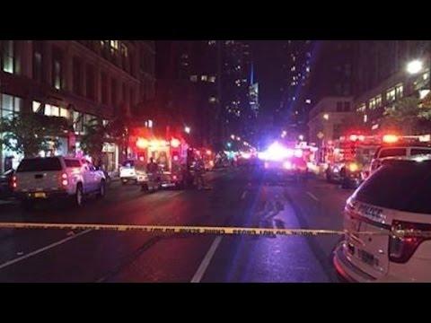 Dozens injured in New York explosion