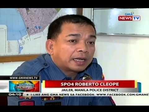Larawan ng mga naka-kadenang inmate ng Manila Police District, kumalat sa internet