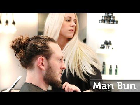 Man Bun ★ How to make the Famous Celebrity Top Knot ★ Men's Long Hair