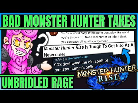 RISE SHOULD BE A POKEMON GAME FOR WORLD BABIES - The Worst Hunters in Monster Hunter! (Bad Takes) |