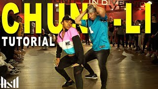 CHUN LI - Nicki Minaj Dance TUTORIAL | Matt Steffanina Choreography