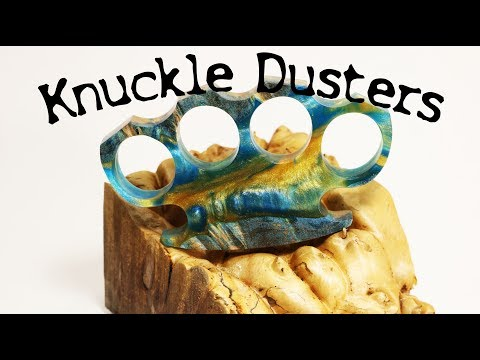 "#32 ""Knuckle Dusters"" Hybrid ""Brass"" Knuckles"