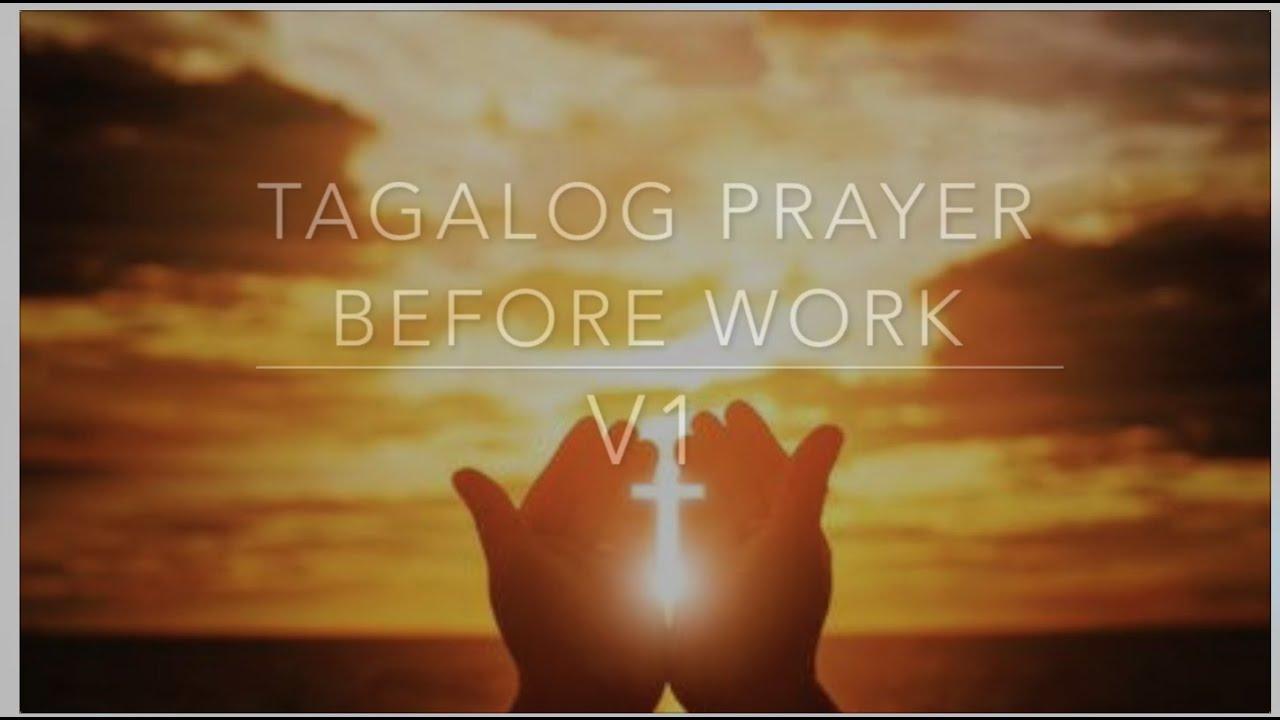 Work before morning prayer starting Morning Prayer