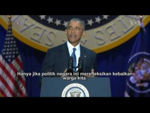 Pidato Perpisahan Presiden Barack Obama Mp3