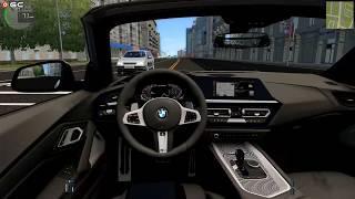 "City Car Driving Simulator ""Bmw Z4 M40i 2019"" Traffic Fast Driver Games FHD #10"