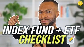 Investing in index funds and etfs has grown popularity due to passive popularised by vanguard. today we share our checklist for 8 things you sho...