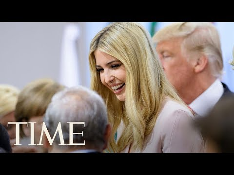 President Donald Trump Defends Daughter And White House Aide Ivanka