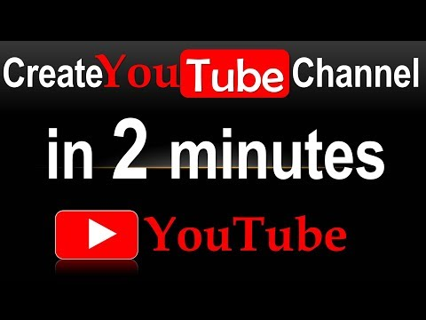 How To Create A Youtube Channel in 2 minutes And Earn Money (2018 LATEST BEGINNER GUIDE)