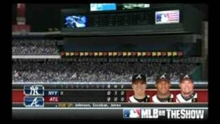 MLB 08 The show: Braves vs Yankees part 1