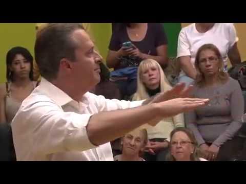 O primeiro programa eleitoral de Eduardo Campos