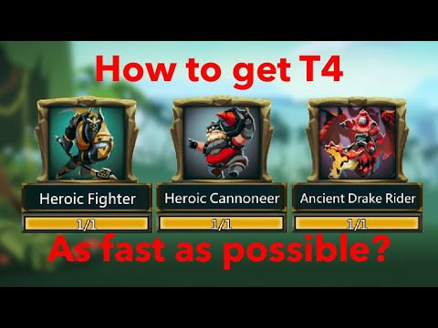 Lords-Mobile | How To Get T4 As Fast As Possible?!
