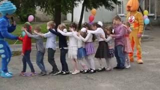 Фиксики: Симка и нолик - играют с детьми на празднике 1 июня