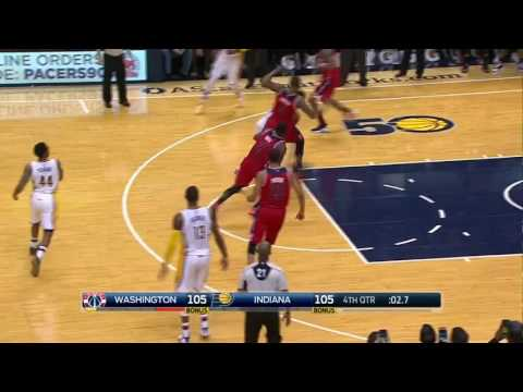Thaddeus Young buzzer beater vs the Wizards