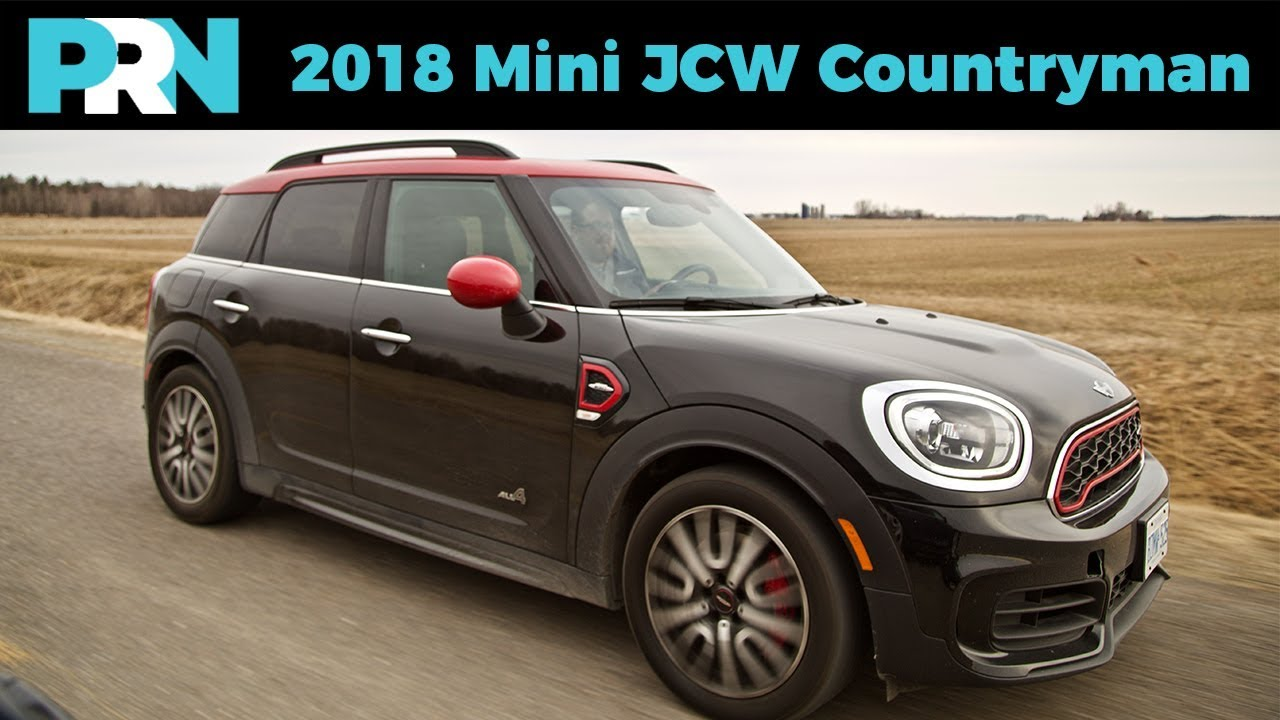 2018 mini john cooper works countryman all4 testdrive. Black Bedroom Furniture Sets. Home Design Ideas