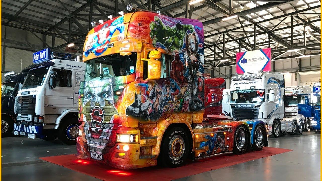 Full of the Pipe 2018 - Biggest Truck Show in Ireland - Custom Trucks