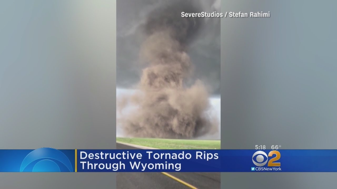 Massive Tornado Rips Through Wyoming
