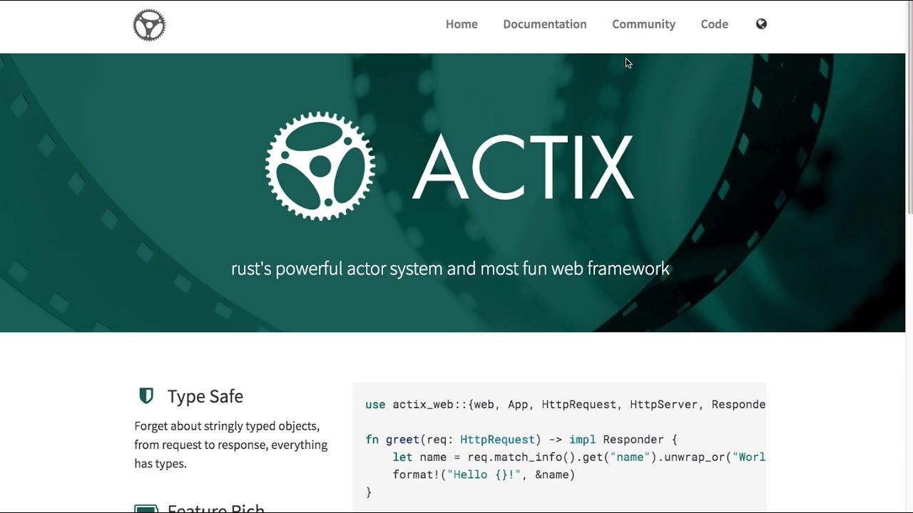 [강좌 안내] Rust web frameworks & asynchronous, event driven platform
