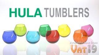 Hula Wobbling Tumblers (4-pack)