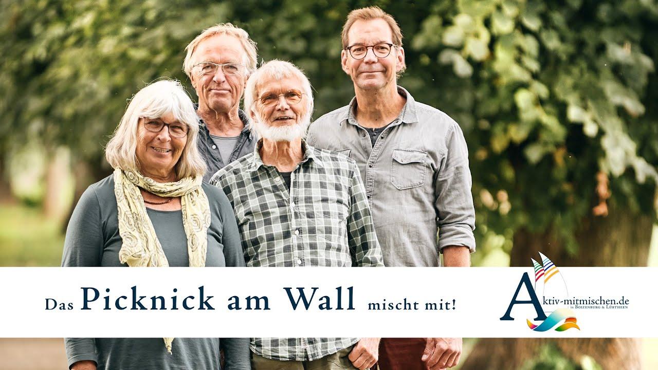 Picknick am Wall mischt mit. Aktiv mitmischen! In Boizenburg und Lübtheen.