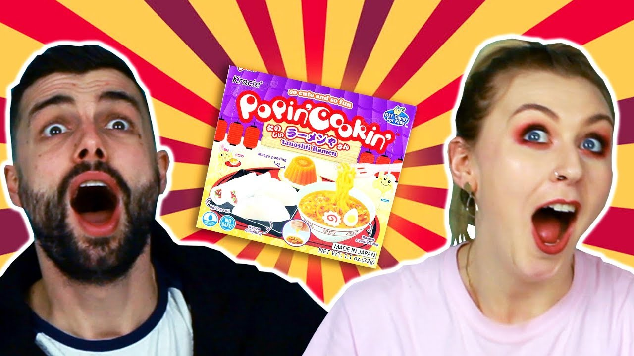 Irish People Try DIY Japanese Candy