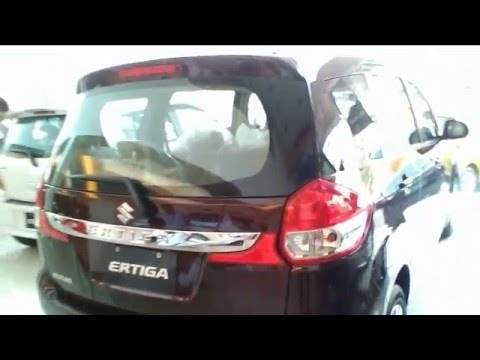 Suzuki Ertiga GL Automatic Review -  Burgundy Red