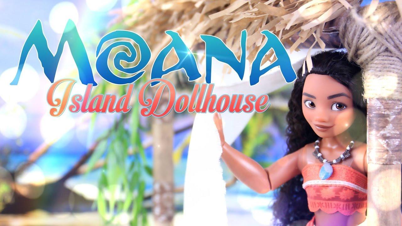 DIY   How To Make: Disney Moana Dollhouse   Handmade   Doll   Craft   4K.  MyFroggyStuff Part 84