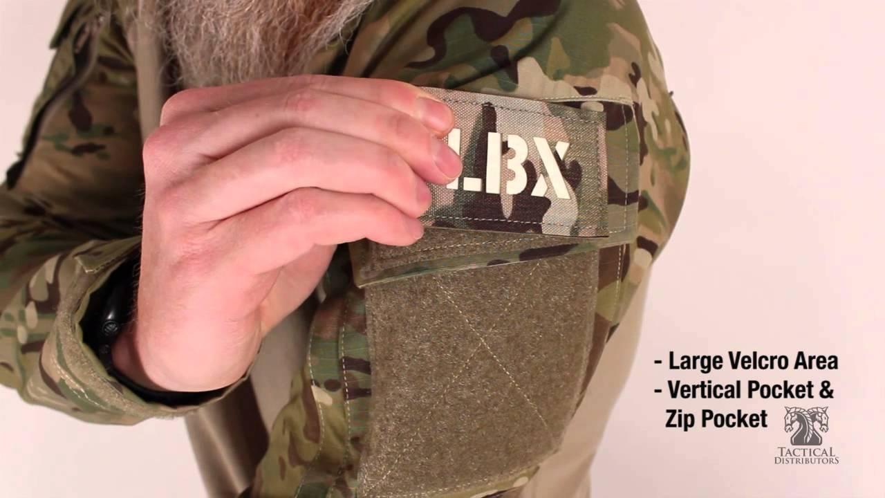Ranger Green LBX TACTICAL Assaulter Shirt Medium