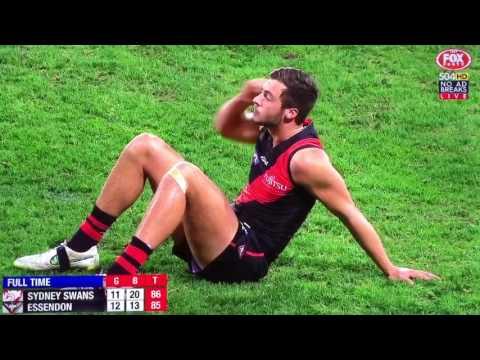 Last 41 seconds Sydney Swans vs Essendon round 14 2017